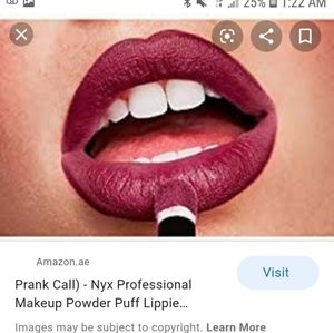 Prank call - Nyx powder puff lippie